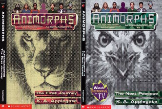 Alternamorphs first journey next passage covers combined image