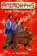Animorphs 11 the forgotten Los olvidados spanish cover ediciones B