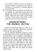 Aa handbook 19 animorphing animal factor