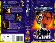 Animorphs vhs volume 1 front spine back UK my name is jake underground