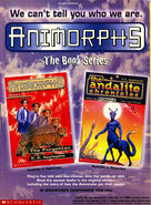 Book 11 andalite chronicles nick mag ad oct 1997