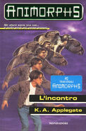 Animorphs 3 the encounter L incontro italian cover