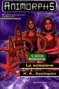 Animorphs 32 the separation La scissione italian cover