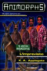 Animorphs 44 the unexpected L imprevisto italian cover