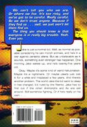 Animorphs 41 familiar back cover