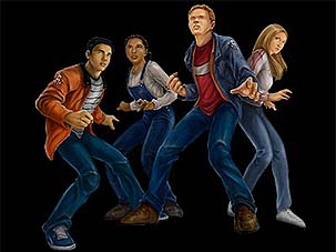 File:Animorphs human members from Shattered Reality game.jpg