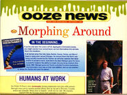 Nickelodeon magazine animorphs morphing around