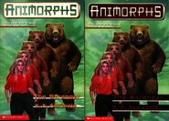 Animorphs book 7 the stranger 2 covers earlier and later printing