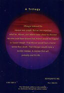 Andalite Chronicles scholastic edition back cover