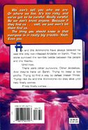 Animorphs 40 the other back cover