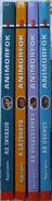 Animorphs animorfok book spines hungarian