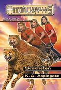 Animorphs 37 the weakness Svakheten Norwegian cover