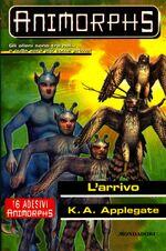 Animorphs 38 the arrival l arrivo italian cover