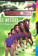 Animorphs 14 the unknown Le Mystere french cover