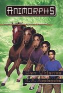 Animorphs 14 the unknown Den Ukjente Norwegian cover