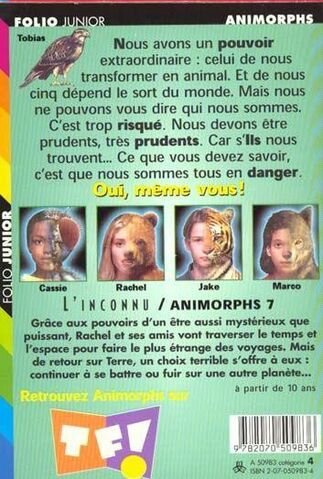 File:Animorphs 7 the stranger L inconnu french back cover.jpg