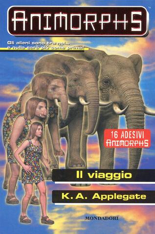 File:Animorphs 42 the journey Il viaggio italian cover.jpg
