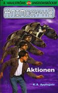 Animorphs 3 the encounter Aktionen swedish cover