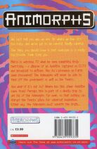 Animorphs 40 the other UK back cover