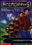 Animorphs 20 the discovery front cover