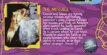 The Message TV episode australian vhs summary
