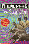 Animorphs 24 the suspicion UK cover