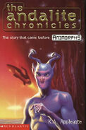 Animorph andalite chronicles uk cover