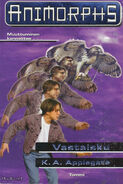 Animorphs 3 the encounter Vastaisku Finnish cover
