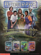 Animorphs Megamorphs 3 advertisement Nickelodeon Magazine May 1999