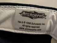Animorphs baseball cap inside tag scholastic and logo