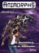 Animorphs 3 the encounter O encontro brazilian cover Rocco
