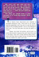 Animorphs book 39 The Hidden back cover