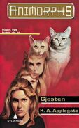 Animorphs 2 the visitor Gjesten Norwegian cover