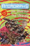 Animorphs 49 50 ultimate diversion uk cover