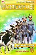 Animorphs 28 the experiment Bí mật nhà máy thịt hộp vietnamese cover book 42