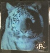 Australian VHS tape lenticular sticker Jake tiger