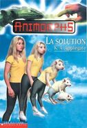 Animorphs 22 the solution La Solution french canadian cover