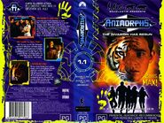 Animorphs vhs australian volume front and back 1.1 my name is jake underground