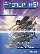 Animorphs 15 the escape A fuga brazilian cover Rocco