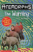 Animorphs 16 the warning UK cover