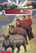 Animorphs 16 the warning L alerte french canadian cover