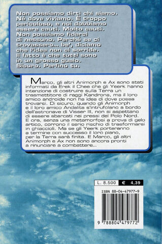 File:Animorphs 25 the extreme Il gelo italian back cover.jpg