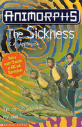 Animorphs 29 the sickness uk cover