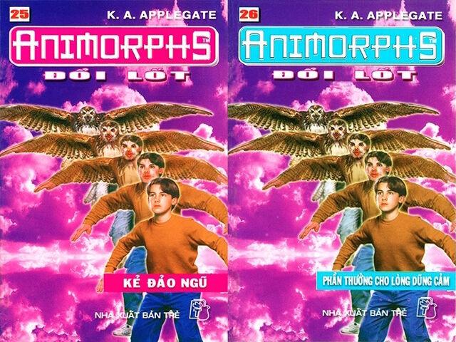 File:Animorphs 13 the change Đổi lốt vietnamese covers books 25 and 26.jpg