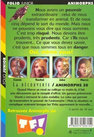 File:Animorphs 20 the discovery french back cover.jpg