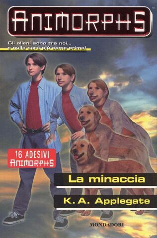 File:Animorphs 21 the threat La minaccia italian cover.jpg