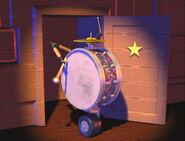 Drum On a Wheel