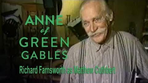Anne of Green Gables (1985) Interview - Richard Farnsworth as Matthew Cuthbert