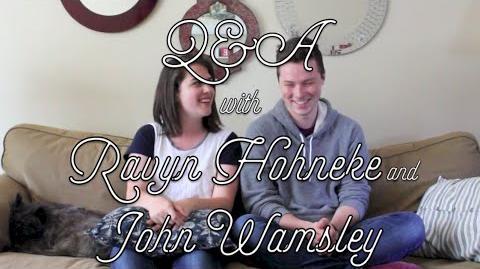 Green Gables Fables Q&A - Ravyn Hohneke and John Wamsley