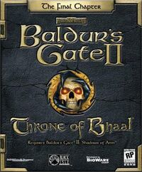 Throne of Bhaal front